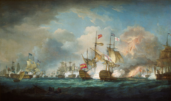 Thomas Whitcombe Art Gallery - Maritime Paintings and ...