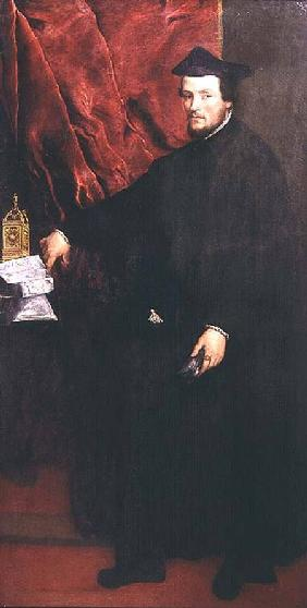 Portrait of Cristoforo Madruzzo, Cardinal and Bishop of Trent