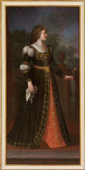 Béatrix of Geneva, wife of Thomas I of Savoy