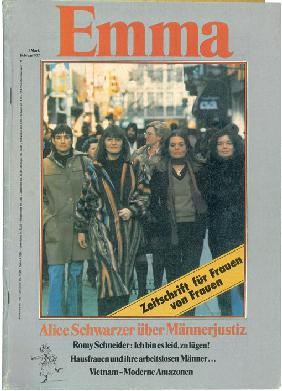 First issue of the EMMA magazine from February 1977