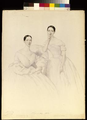 Fanny and Theresa Elssler
