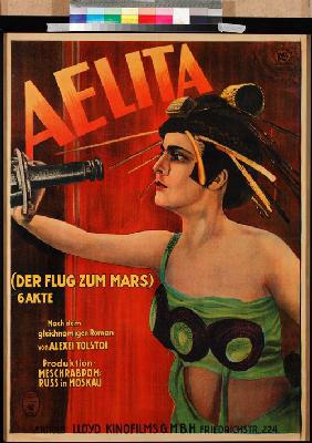 Movie poster Aelita