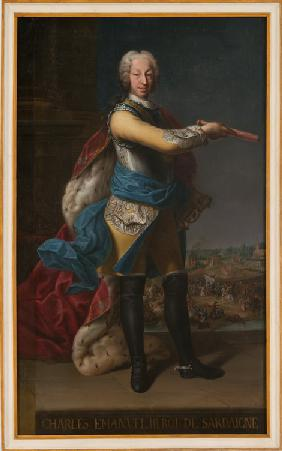 Charles Emmanuel III (1701-1773), Duke of Savoy and King of Sardinia