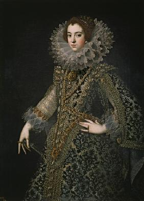 Portrait of Elisabeth of France (1602-1644), Queen consort of Spain