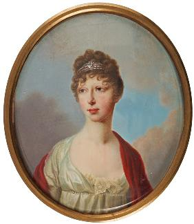 Portrait of Grand Duchess Maria Pavlovna of Russia (1786–1859)
