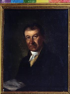 Portrait of the composer Dmitry Bortniansky (1751-1825)