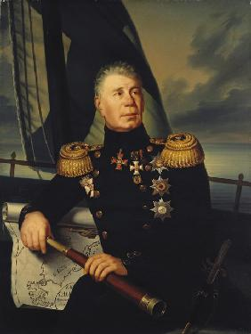 Portrait of Admiral Ivan (Adam) Krusenstern (1770-1846)