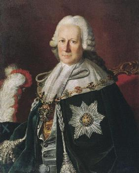 Portrait of the Admiral Semyon Ivanovich Mordvinov (1701-1777) (After Carl Ludwig Christineck))