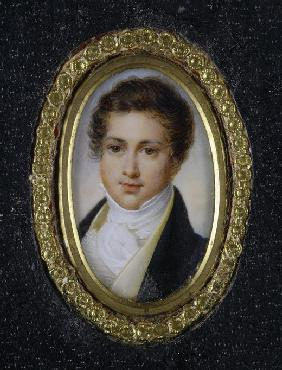 Portrait of Prince Grigory Petrovich Volkonsky (1776-1852)