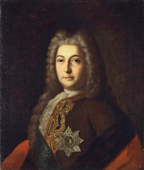 Portrait of Count Heinrich Johann Friedrich (Andrei) Ostermann (1687-1747)