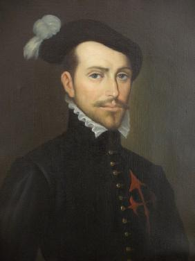 Portrait of Hernán Cortés (1485-1547)