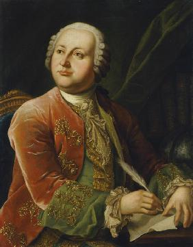 Portrait of Mikhail V. Lomonosov (1711-1765)