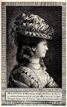 Portrait of Sophie Dorothea of Württemberg