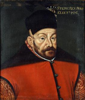Portrait of Stephen Báthory of Poland