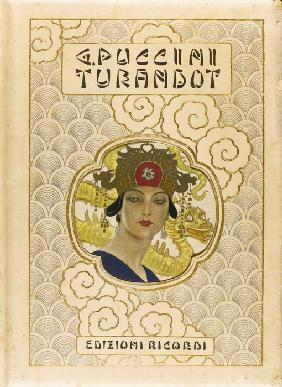 Book cover of Turandot by Giacomo Puccini
