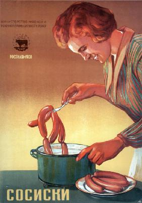 Sausages (Advertising Poster)