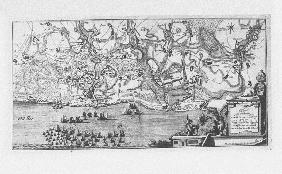 The capture of the Prussian fortress of Kolberg on 16 December 1761