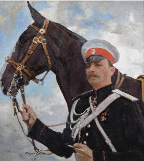 Portrait of Prince Felix Yusupov, Count Sumarokov-Elston (1856-1928)