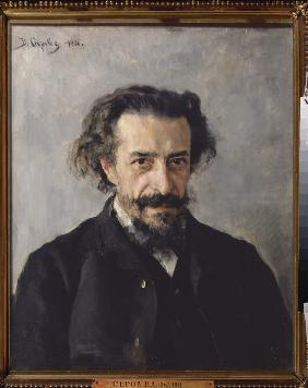 Portrait of composer Pavel Ivanovich Blaramberg (1841-1908)