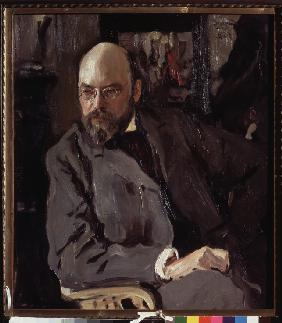 Portrait of the artist Ilya Ostroukhov (1858-1929)