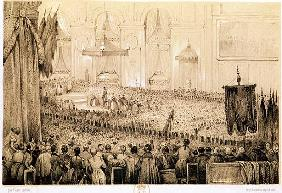 The Re-establishment of the Cult: A Te Deum at Notre-Dame de Paris, 18th April 1802