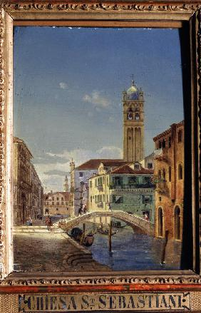 Views of Venice. The Church of San Sebastiano