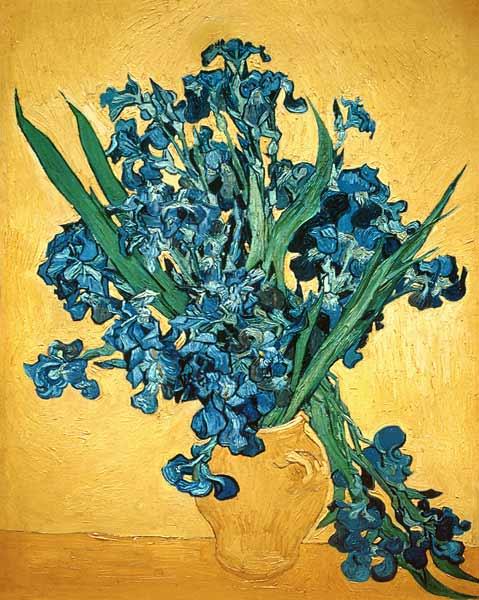 Relativ Bouquet d iris - peinture huile sur toile de Vincent van Gogh CM73