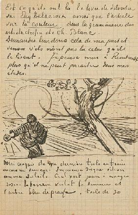 The Sower, Letter to Theo from Arles, c. 25 November 1888