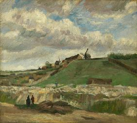 The Hill of Montmartre with Stone Quarry