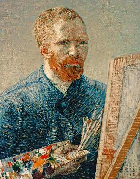 Van Gogh / Self-portrait / 1888