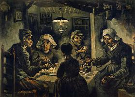 van Gogh / The Potato Eaters / 1885