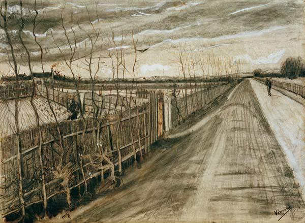 V.van Gogh, Country Road / Draw./ 1882