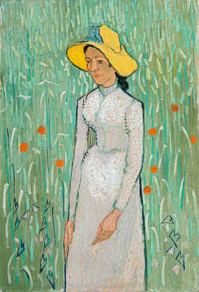 V.van Gogh, Girl in White /Paint./ 1890