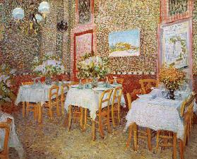 V.van Gogh, Interior of Restaurant /1887