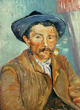 van Gogh / Man with pipe / 1888