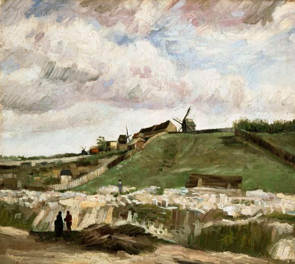 van Gogh, Vincent : van Gogh / Quarry at Montm...