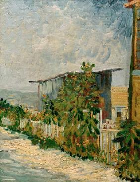 V.v.Gogh, Shelter on Montmartre/ Paint.