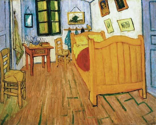 La chambre coucher de vincent van gogh en arles - La chambre a coucher de vincent van gogh ...