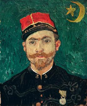 van Gogh / Portrait of Milliet / 1888