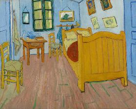 Van Gogh / The bedroom / October 1888
