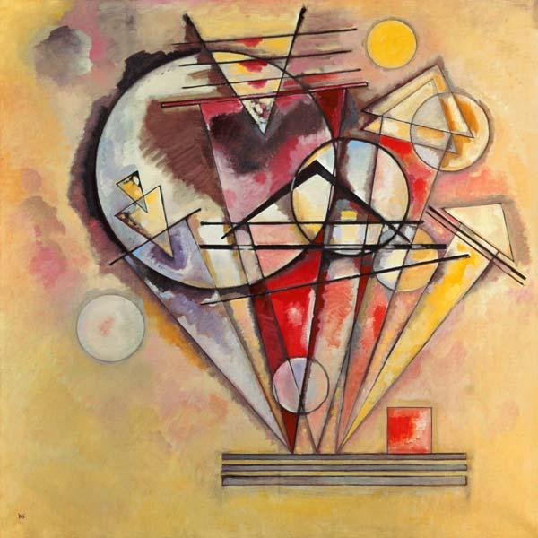 Connu Vassily Kandinsky en reproductions imprimées ou peintes sur REPRO  ET78
