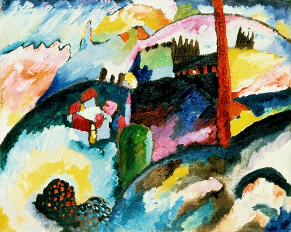 Landscape with Chimneys