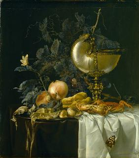 Still-Life with Nautilus Cup