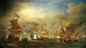 The Battle of the Texel, Kijkduin