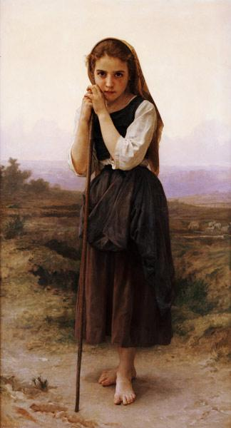 A Little Shepherdess