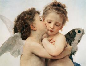 The first Kiss (Detail)