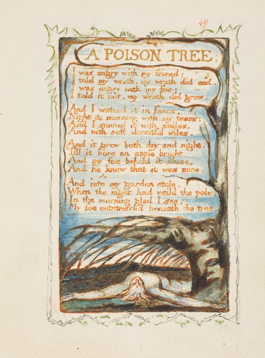 A Poison Tree Questions and Answers