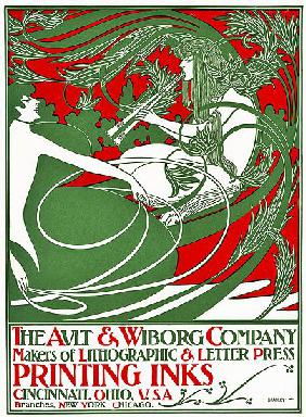 Art Nouveau poster depicting Pan