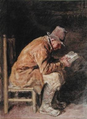 Study of a Countryman Reading
