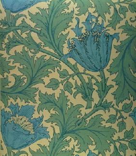 William morris en reproductions imprimes ou peintes sur - Papier peint reproduction tableau ...